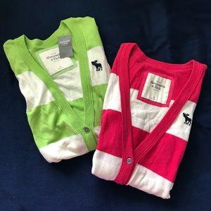 Abercrombie & Fitch   Bundle of 2 Cardigans Size M